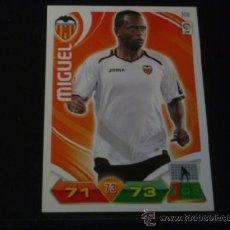 Cromos de Fútbol: ADRENALYN 2011/2012 - PANINI - 308 MIGUEL - VALENCIA CF - 11 12 - . Lote 38631669