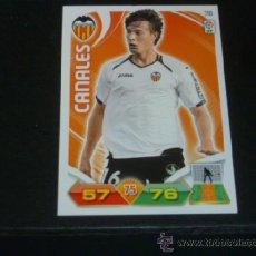 Cromos de Fútbol: ADRENALYN 2011/2012 - PANINI - 318 CANALES - VALENCIA CF - 11 12 - . Lote 38632021