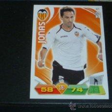 Cromos de Fútbol: ADRENALYN 2011/2012 - PANINI - 321 JONAS - VALENCIA CF - 11 12 - . Lote 38632054