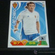 Cromos de Fútbol: ADRENALYN 2011/2012 - PANINI - 347 LÁNZARO - R. ZARAGOZA - 11 12 - . Lote 38632336