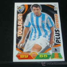 Cromos de Fútbol: ADRENALYN 2011/2012 - PANINI - 364 TOULALAN ( PLUS DEFENSA ) - MÁLAGA CF - 11 12 - . Lote 39248673