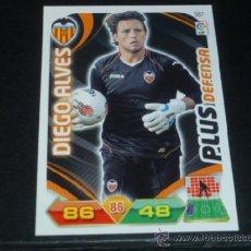 Cromos de Fútbol: ADRENALYN 2011/2012 - PANINI - 367 DIEGO ALVES ( PLUS DEFENSA ) - VALENCIA CF - 11 12 - . Lote 38634023