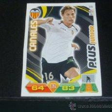 Cromos de Fútbol: ADRENALYN 2011/2012 - PANINI - 378 CANALES ( PLUS JUNIOR ) - VALENCIA CF - 11 12 - . Lote 38634187