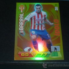 Cromos de Fútbol: ADRENALYN 2011/2012 - PANINI - 421 BARRAL ( ÍDOLO ) - SPORTING GIJÓN - 11 12 - . Lote 38637273