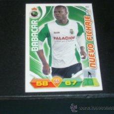 Cromos de Fútbol: ADRENALYN 2011/2012 - PANINI - 482 BABACAR ( NUEVO FICHAJE ) - RACING SANTANDER - 11 12 -. Lote 38637652