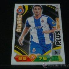 Cromos de Fútbol: ADRENALYN 2011/2012 - PANINI - 374 ÁLVARO ( PLUS JUNIOR ) - RCD. ESPANYOL - 11 12 - . Lote 38634163