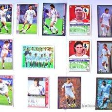 Cromos de Fútbol: 13 CROMOS FÚTBOL SEVILLA- TEMPORADA 2005-VER FOTO ADCIONAL. Lote 38639553