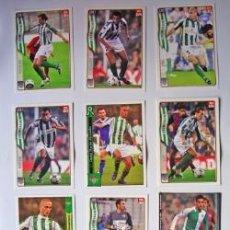 Cromos de Fútbol: 11 CROMOS FÚTBOL REAL BETIS-TEMPORADA 2004 Y 2005-VER FOTO ADICIONAL. Lote 38639571