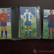 Cromos de Fútbol: COLECCION DE CROMOS DE FUTBOL ANTIGUOS. Lote 38675218