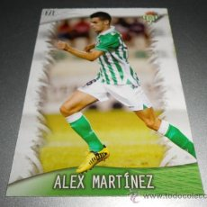Cromos de Fútbol: 171 ALEX MARTINEZ BETIS CROMOS ALBUM MUNDICROMO LIGA FUTBOL QUIZ GAME 2013 2014 13 14. Lote 263597135