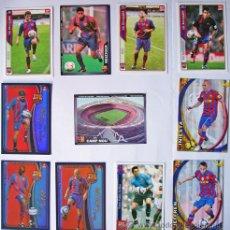 Cromos de Fútbol: 11 CROMOS CLUB DE FÚTBOL BARCELONA, TEMPORADA 2004-2005 Y 2006-VER FOTO ADICIONAL. Lote 38761980