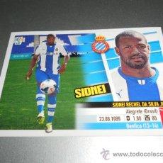 Cromos de Fútbol: COLOCA 8 B SIDNEI ESPANYOL CROMOS ALBUM EDICIONES ESTE LIGA FUTBOL 2013 2014 13 14. Lote 40787923