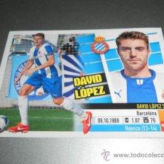 Cromos de Fútbol: COLOCA 10 B DAVID LOPEZ ESPANYOL CROMOS EDICIONES ESTE LIGA FUTBOL 2013 2014 13 14. Lote 165004989