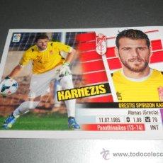 Cromos de Fútbol: COLOCA 2 B KARNEZIS GRANADA CROMOS ALBUM EDICIONES ESTE LIGA FUTBOL 2013 2014 13 14 . Lote 38967415