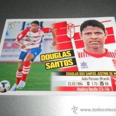 Cromos de Fútbol: COLOCA 4 B DOUGLAS SANTOS GRANADA CROMOS ALBUM EDICIONES ESTE LIGA FUTBOL 2013 2014 13 14 . Lote 38992439