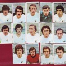 Cromos de Fútbol: RUIROMER - CAMPEONATO NACIONAL DE FUTBOL 1976-1977 - LOTE DE 14 CROMOS BURGOS. Lote 38844009