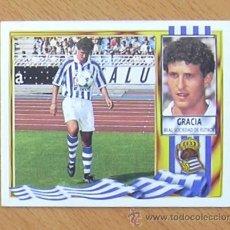 Cromos de Fútbol: REAL SOCIEDAD - GRACIA - EDICIONES ESTE 1995-1996, 95-96 - NUNCA PEGADO. Lote 179842196