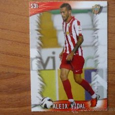 Cromos de Fútbol: MUNDICROMO FICHAS QUIZ LIGA 2014 Nº 531 ALEIX VIDAL (ALMERIA) - CROMO 2013 2014. Lote 172852283