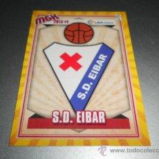 Cromos de Fútbol: MGK 436 ESCUDO EIBAR CROMOS ALBUM MEGACRACKS LIGA ADELANTE FUTBOL 2013 2014 13 14. Lote 207095567
