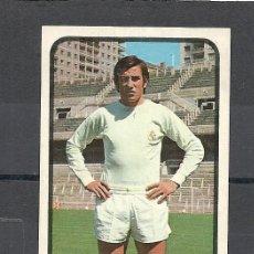 Cromos de Fútbol: RUIZ ROMERO LIGA 73-74.DESPEGADO MACANAS-REAL MADRID. Lote 39132877
