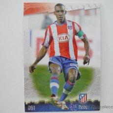 Cromos de Fútbol: MUNDICROMO FICHAS LIGA 2009 Nº 091 PEREA (ATLETICO MADRID) CORREGIDO - FUTBOL 2008 2009 . Lote 39180152