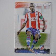 Cromos de Fútbol: MUNDICROMO FICHAS LIGA 2009 Nº 91 PEREA (ATLETICO MADRID) ERROR - FUTBOL 2008 2009 . Lote 39180163