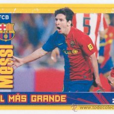Cromos de Fútbol: CROMO - PANINI - FC BARCELONA - 2011-2012 - Nº 142 - MESSI. Lote 39193041