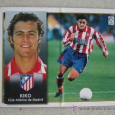 Cromos de Fútbol: ESTE 98-99 KIKO ATLETICO MADRID 1998-1999 . Lote 39214447