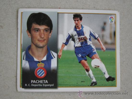 ESTE 98-99 PACHETA ESPANYOL 1998-1999 (Coleccionismo Deportivo - Álbumes y Cromos de Deportes - Cromos de Fútbol)