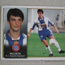 Cromos de Fútbol: ESTE 98-99 PACHETA ESPANYOL 1998-1999 . Lote 39216225