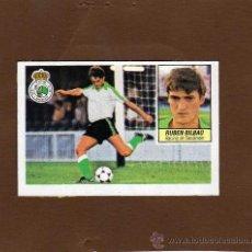 Cromos de Fútbol: RUBEN BILBAO FICHAJE 1 BIS DEL RACING DE SANTANDER LIGA 1984-85 DE ESTE. Lote 39229374