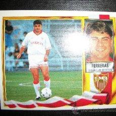 Cromos de Fútbol: FERRERAS COLOCA DEL SEVILLA ALBUM ESTE LIGA 1995 - 1996 ( 95 - 96 ). Lote 236540050