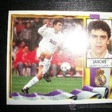 Cromos de Fútbol: SANCHIS DEL REAL MADRID ALBUM ESTE LIGA 1995 - 1996 ( 95 - 96 ). Lote 269460883