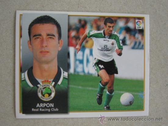 ESTE 98-99 BAJA ARPON RACING SANTANDER 1998-1999 NUEVO (Coleccionismo Deportivo - Álbumes y Cromos de Deportes - Cromos de Fútbol)