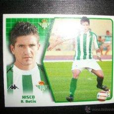 Figurine di Calcio: XISCO DEL BETIS ALBUM ESTE LIGA - 2005- 2006 ( 05 - 06 ). Lote 49025658