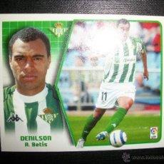 Figurine di Calcio: DENILSON BAJA DEL BETIS ALBUM ESTE LIGA - 2005- 2006 ( 05 - 06 ). Lote 61224898