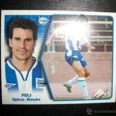 Figurine di Calcio: POLI DEL ALAVES ALBUM ESTE LIGA - 2005- 2006 ( 05 - 06 ). Lote 75000090
