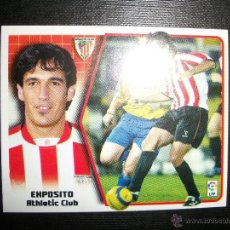 Figurine di Calcio: EXPOSITO ATHLETIC DE BILBAO ALBUM ESTE LIGA 2005 - 2006 ( 05 - 06 ). Lote 210952219