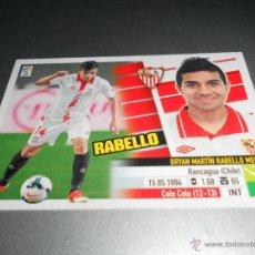 Cromos de Fútbol: COLOCA 14 B RABELLO SEVILLA CROMOS ALBUM EDICIONES ESTE LIGA FUTBOL 2013 2014 13 14. Lote 39728754