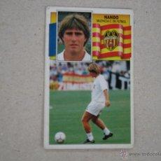 Cromos de Fútbol: ESTE 90-91 NANDO VALENCIA 1990-1991 NUNCA PEGADO. Lote 177714703
