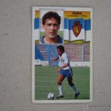 Cromos de Fútbol: ESTE 90-91 GLARIA ZARAGOZA 1990-1991 NUNCA PEGADO. Lote 39394412