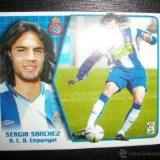 Figurine di Calcio: SERGIO SANCHEZ DEL ESPAÑOL ALBUM ESTE LIGA 2005 - 2006 ( 05 - 06 ) . Lote 39429445