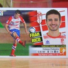 Cromos de Fútbol: EDICIONES ESTE 2013-2014 13 14 FRAN RICO (COLOCA) GRANADA SIN PEGAR. Lote 175436575