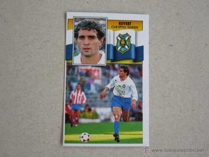 ESTE 90-91 REVERT TENERIFE 1990-1991 NUEVO (Coleccionismo Deportivo - Álbumes y Cromos de Deportes - Cromos de Fútbol)