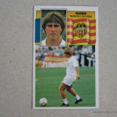 Cromos de Fútbol: ESTE 90-91 NANDO VALENCIA 1990-1991 NUEVO. Lote 39422786
