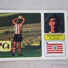 Cromos de Fútbol: FHER 73-74 ARANGUREN ATHLETIC BILBAO 1973-1974 . Lote 39661436