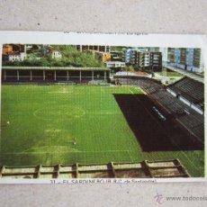 Cromos de Fútbol: FHER 73-74 ADHESIVO POSTER CENTRAL Nº 31 ESTADIO RACING SANTANDER 1973-1974 NUNCA PEGADO. Lote 39466523