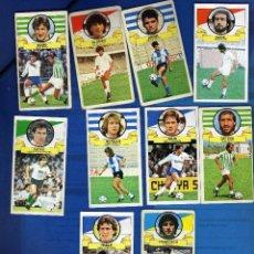 Cromos de Fútbol: LOTAZO DE COLOCAS DE LA LIGA 1985-86 DE ESTE. Lote 39537996