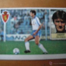 Cromos de Fútbol: CROMO ESTE 84/85. CASUCO. REAL ZARAGOZA. NUNCA PEGADO.. Lote 39546663