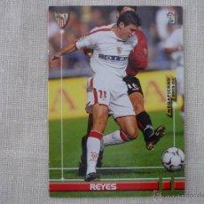 Cromos de Fútbol: MEGAFICHAS DE LA LIGA 2003 2004 PANINI Nº 268 REYES (SEVILLA) - FUTBOL. Lote 49034141